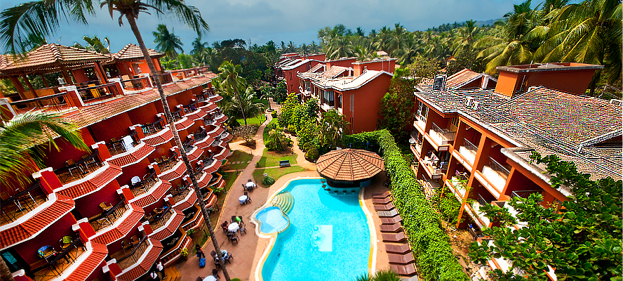 The Baga Marina Hotel Baga Beach Goa Index